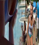 Amanda Bynes wet