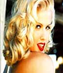 anna nicole smith cute face