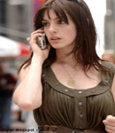 Anne Hathaway in devil wears prada scene