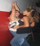 Antonella Barba dirty dancing with girl