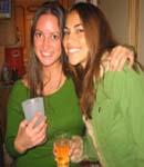 Antonella Barba drinking party