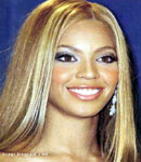 Beyonce Knowles head shot