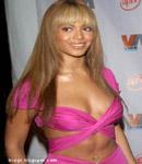 Beyonce Knowles in pink