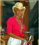 Beyonce Knowles cowboy hat