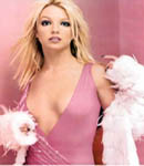 Britney Spears pink dress