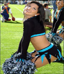 Angela Keithly  Carolina Panthers Cheerleader