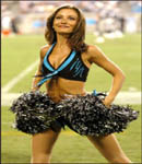 Renee Thomas Carolina Panthers Cheerleaders arrested