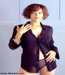 Catherine Bell in hot attire