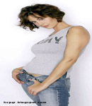Catherine Bell army girl