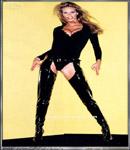 Elle Macpherson Hot leather boots