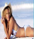 Elle Macpherson bikini beach shot