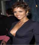 Halle Berry almost showing