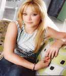 Hilary Duff layout