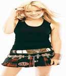 Hilary Duff babydoll