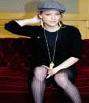 Hilary Duff stockings