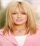 Hilary Duff Head shot