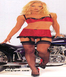 Jamie pressley garter and stockings