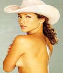 Jennifer Lopez bareback cowboy hat