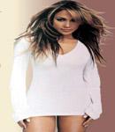 Jennifer Lopez tight white dress