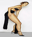 Jennifer Lopez hot legs and high heels