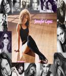 Jennifer Lopez high stockings on the floor