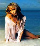 Jennifer Lopez on the beach