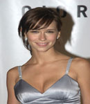 Jennifer Love Hewitt in sensual silver dress