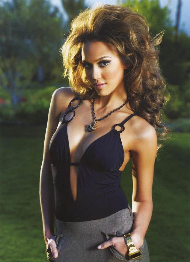 Jessica Alba loves it