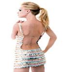 Mena Suvari backless dress