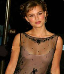 Natalie Portman see through top,