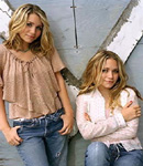 The Olsen Twins on the farm.