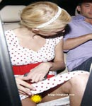 Paris Hilton car shot