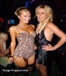 Paris Hilton and friend