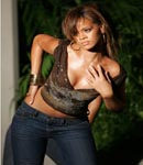 Rihanna modeling