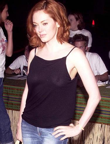 Rose Mc Gowan posing