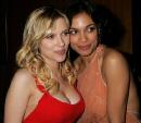 Scarlett Johansson and freind