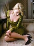 Scarlett Johansson heels bed