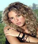Shakira head shot