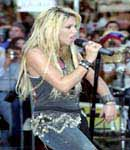Shakira live onstage