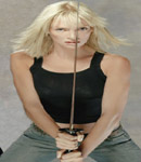 Uma Thurman big sword