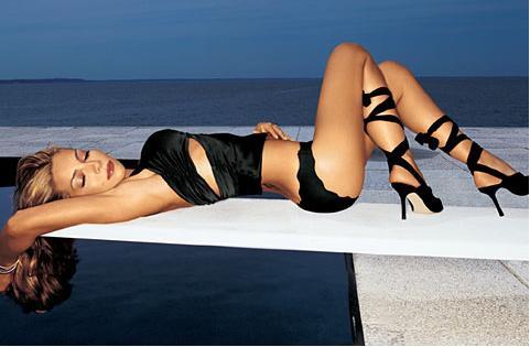 Vanessa Marcil high heels