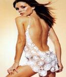 Victoria Beckham white lace