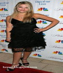 Ashley Benson black dress
