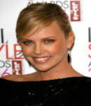 Charlize Theron cute face