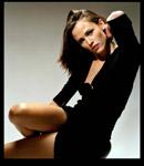 Jennifer Garner in black