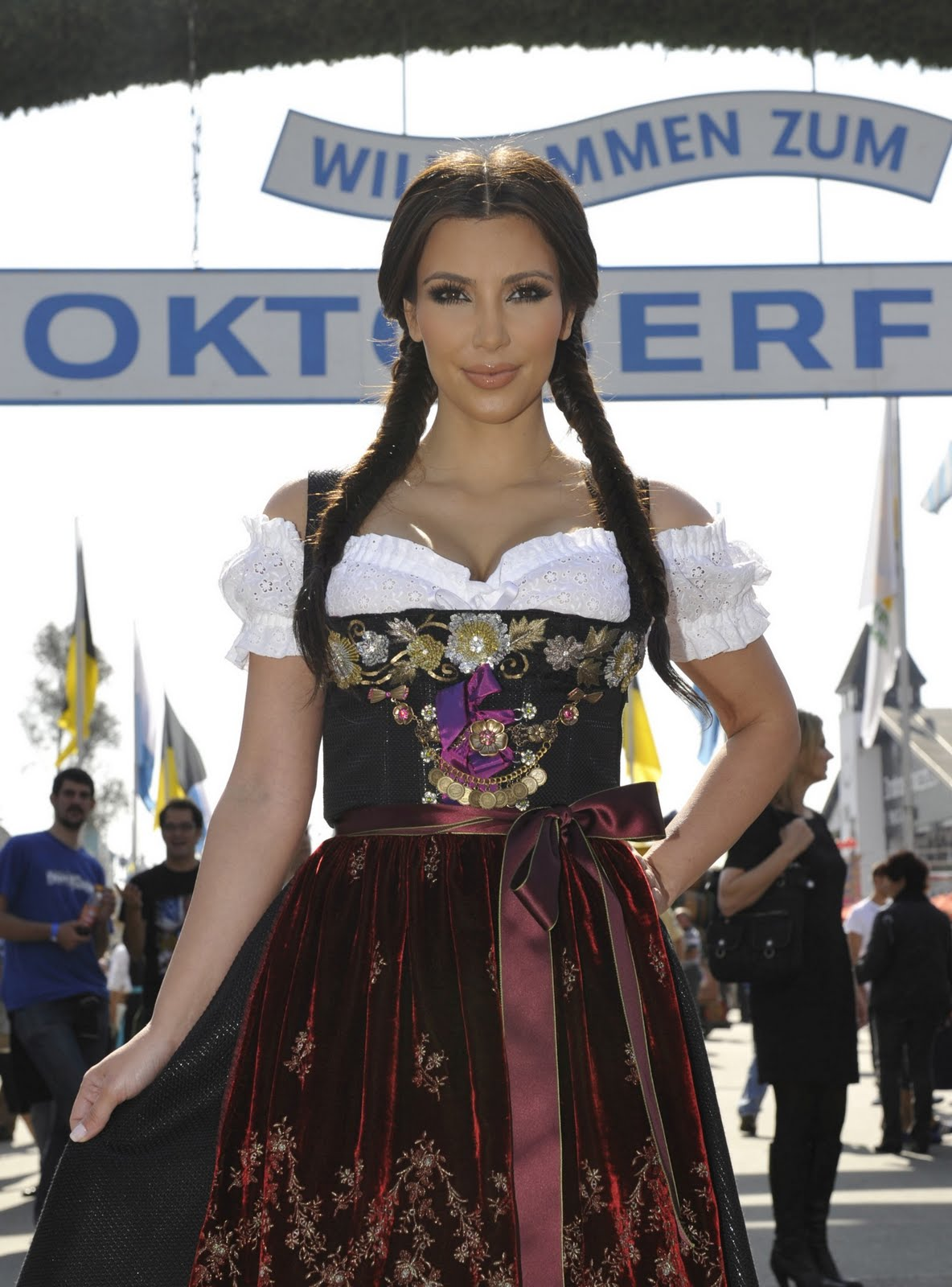 Kim Kardashian Munich Germany