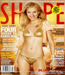 Kristen Bell Shape Magazine cover