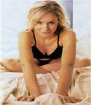 Kristen Bell bed