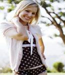 Kristen Bell so cute