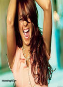 Lindsay Lohan howling